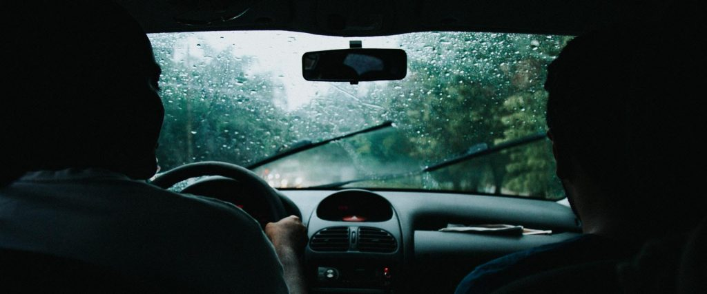 Windshield wipers needing replacement