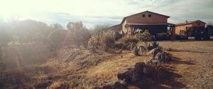 California desert home